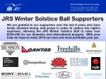 jrs winter solstice ball supporters