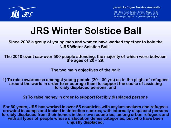 JRS Winter Solstice Ball
