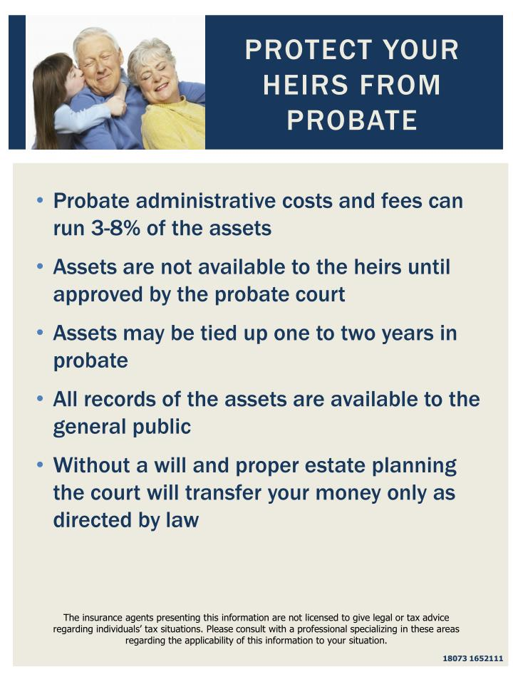 Protect Your Heirs From Probate