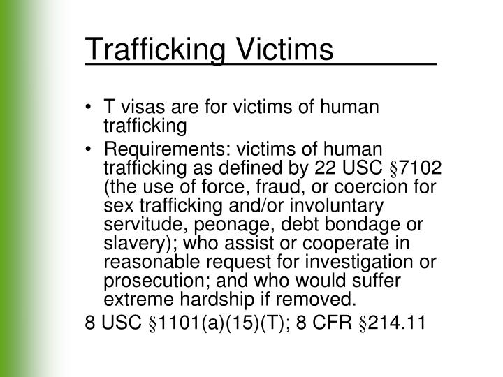 Trafficking Victims