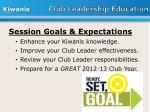 club leadership education
