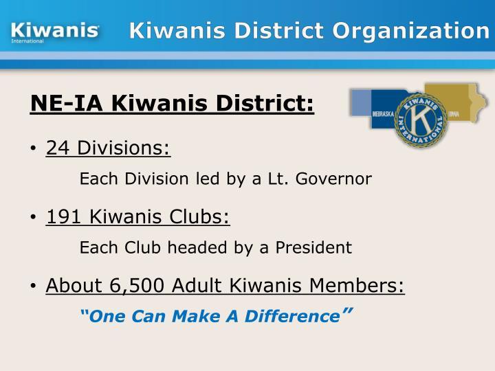 Kiwanis District Organization