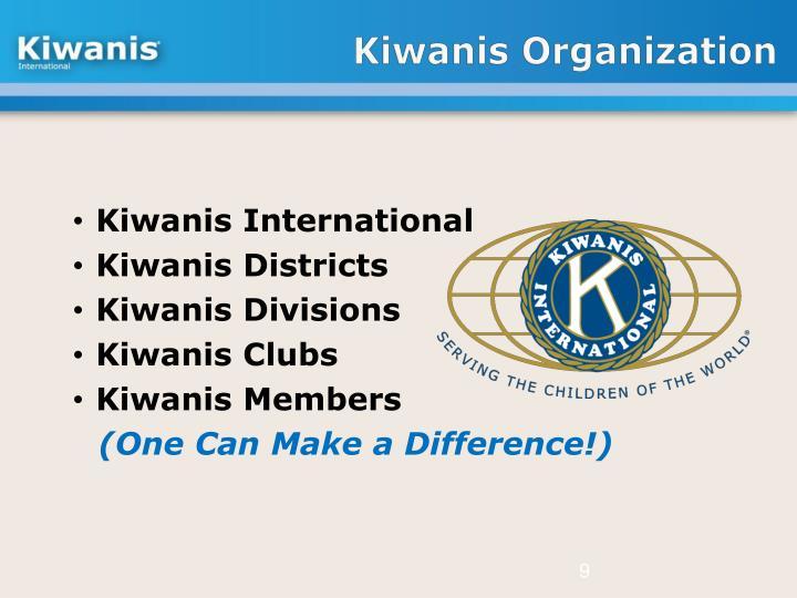 Kiwanis Organization