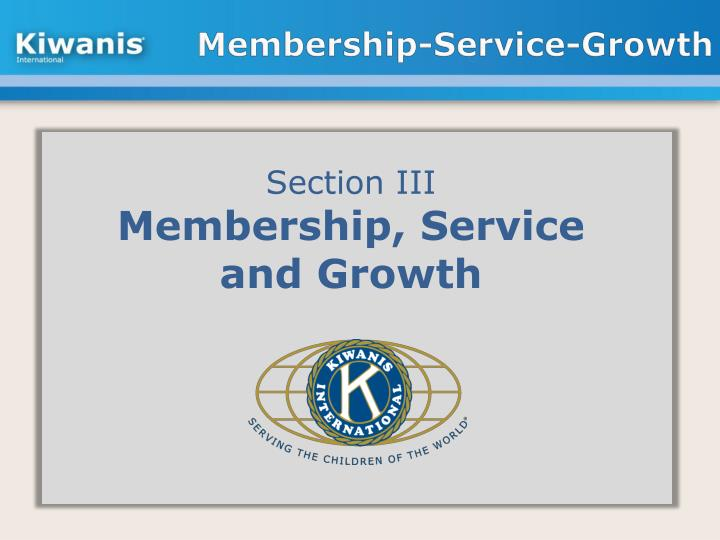 Membership-Service-Growth