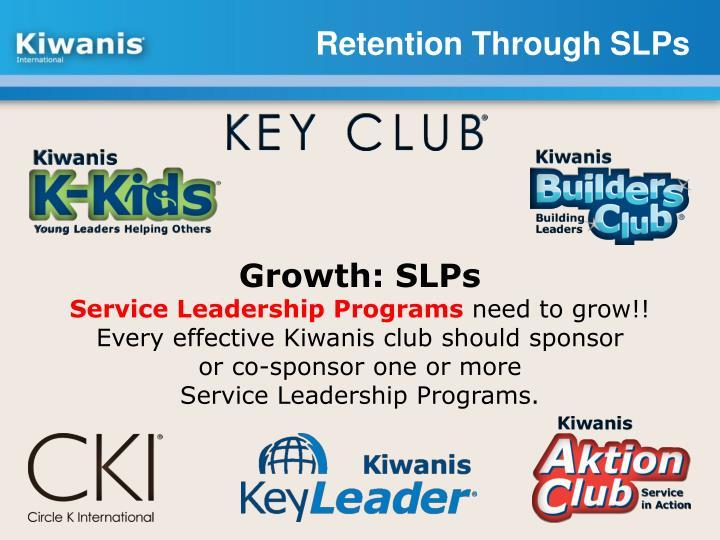 Retention Through SLPs