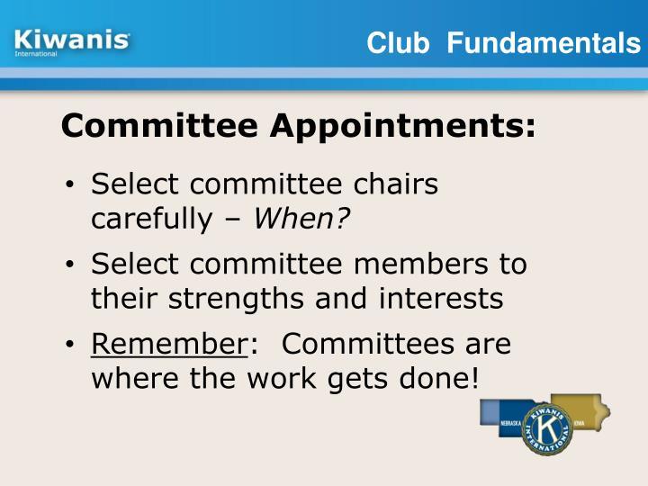 Club  Fundamentals