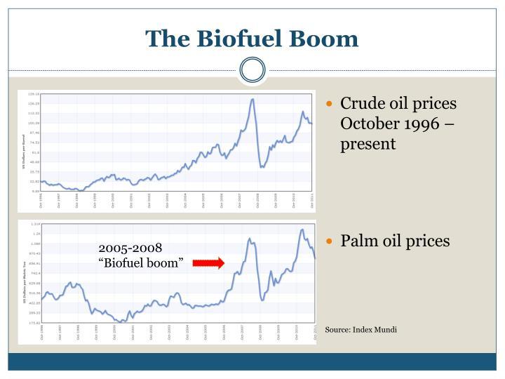 The Biofuel Boom