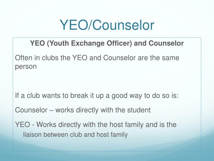 YEO/Counselor