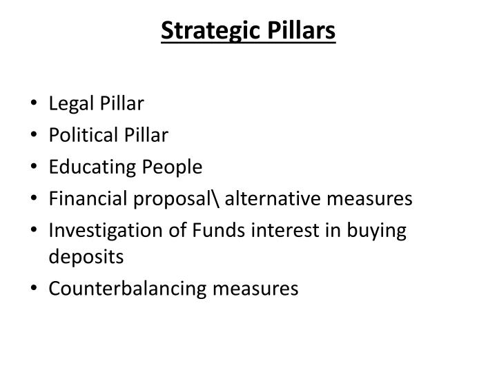 Strategic Pillars