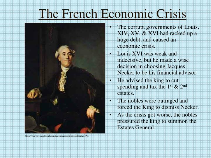 The French Economic Crisis