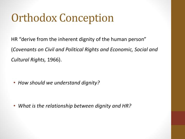 Orthodox Conception