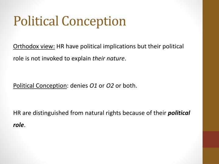 Political Conception