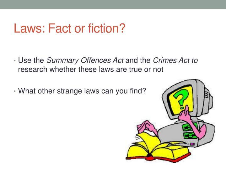 crime summary legal studies