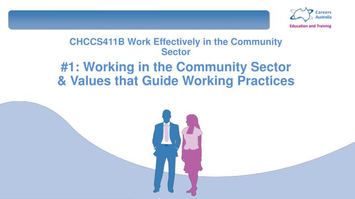 Communicate effectively in a community services setting