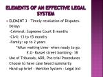 elements of an effective legal system2