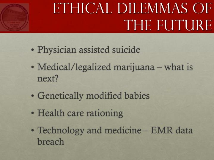 Ethical Dilemmas of the Future