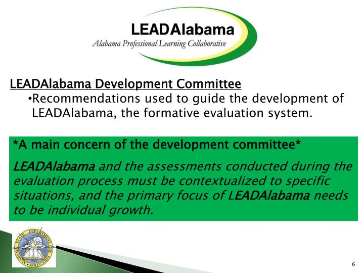 LEADAlabama Development Committee
