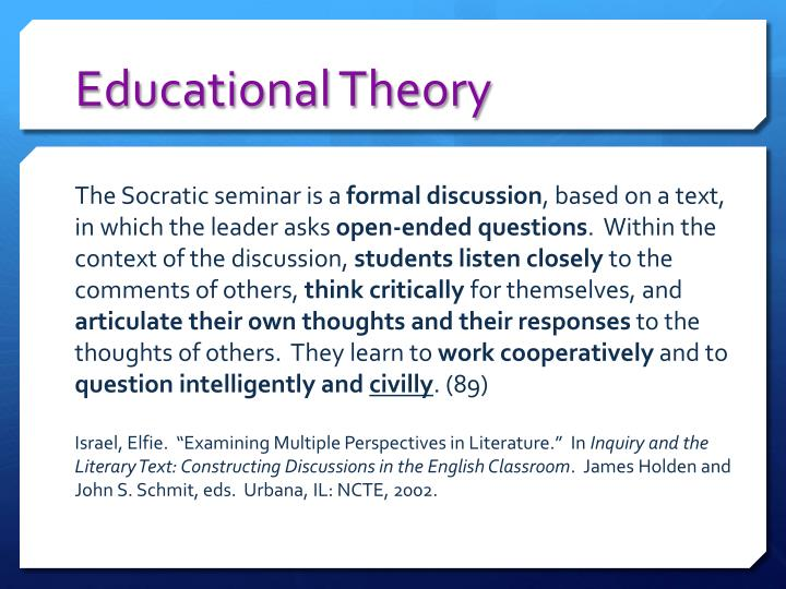 Educational Theory