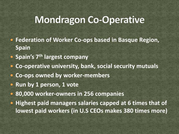 Mondragon Co-Operative