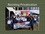 resisting privatisation3