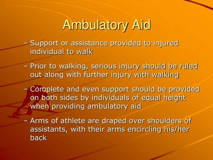 Ambulatory Aid