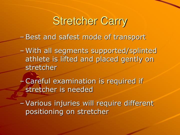 Stretcher Carry