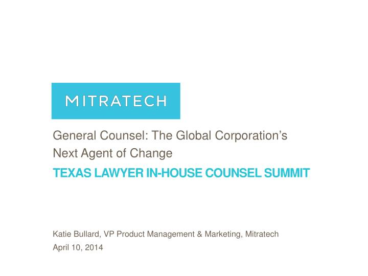 Texas lawyer in house counsel summit