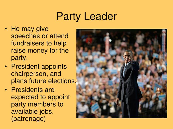 Party Leader