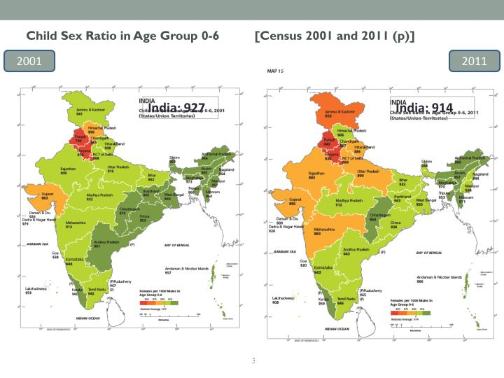 Child Sex Ratio in Age Group