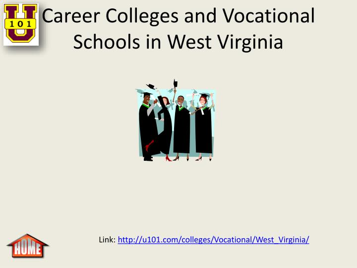 Career Colleges and Vocational Schools in West Virginia