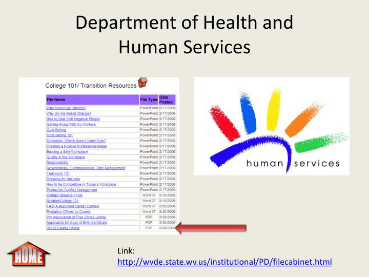 Department of Health and