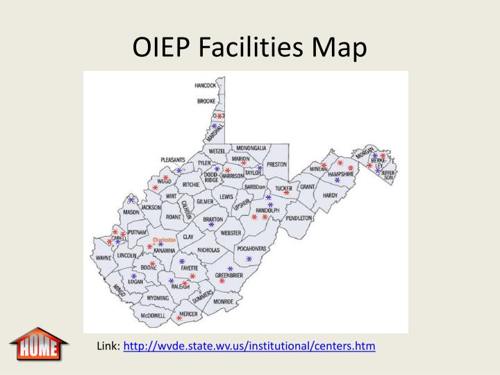 OIEP Facilities Map