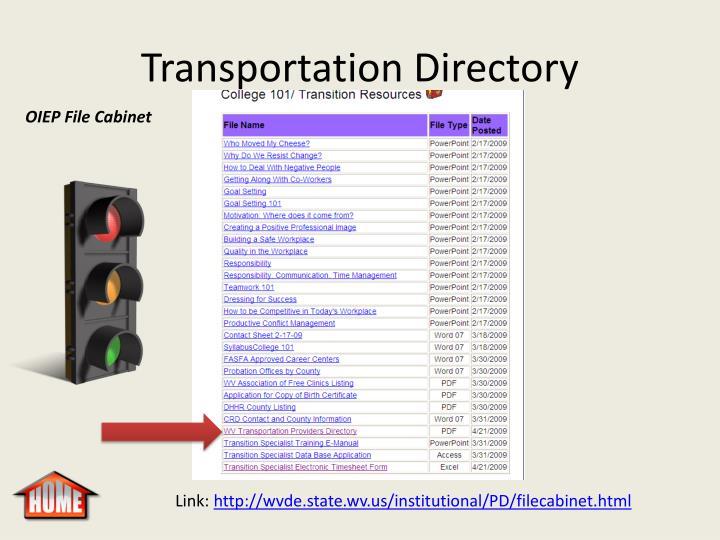 Transportation Directory