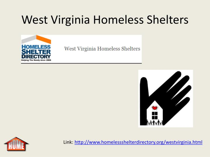 West Virginia Homeless Shelters