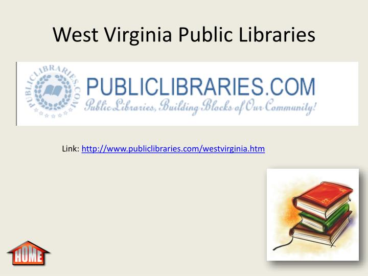 West Virginia Public Libraries