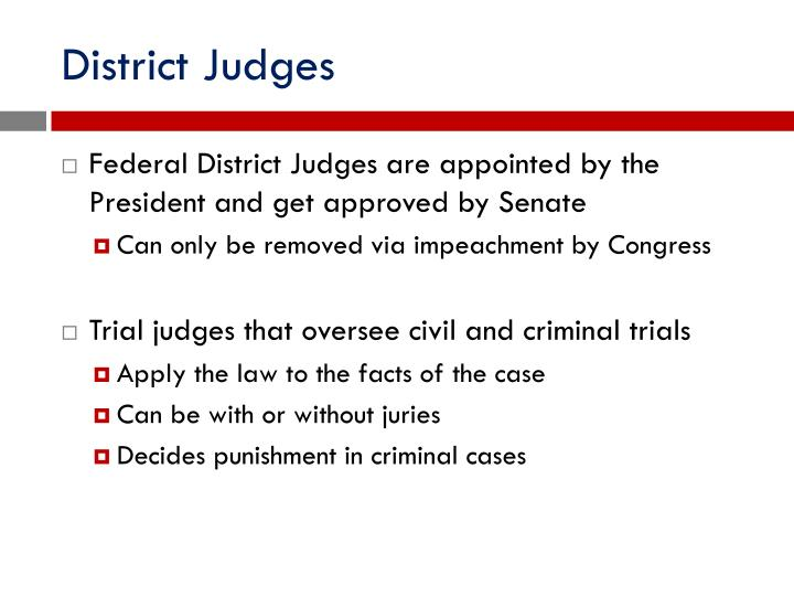 District Judges
