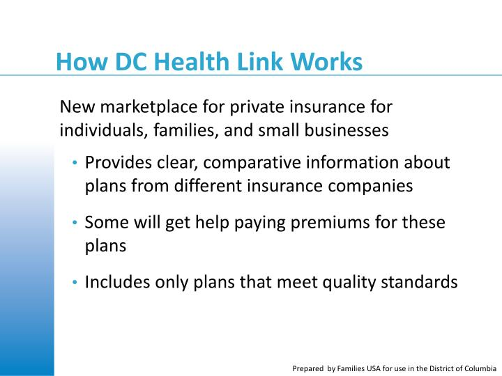 How DC Health Link Works
