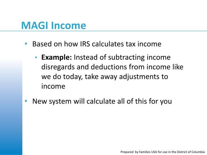 MAGI Income