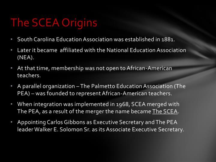 The SCEA Origins