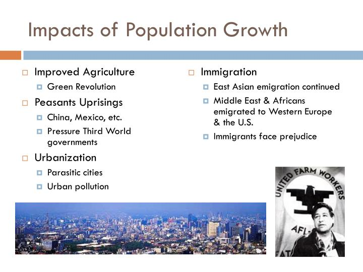 Impacts of Population Growth