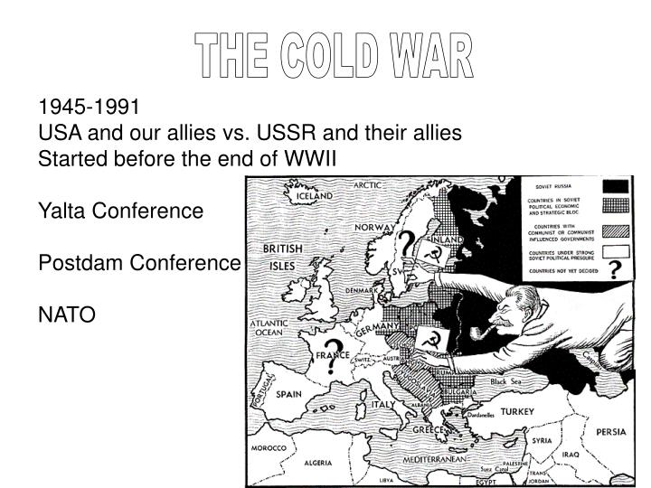 The Cold War: The Geography of Containment