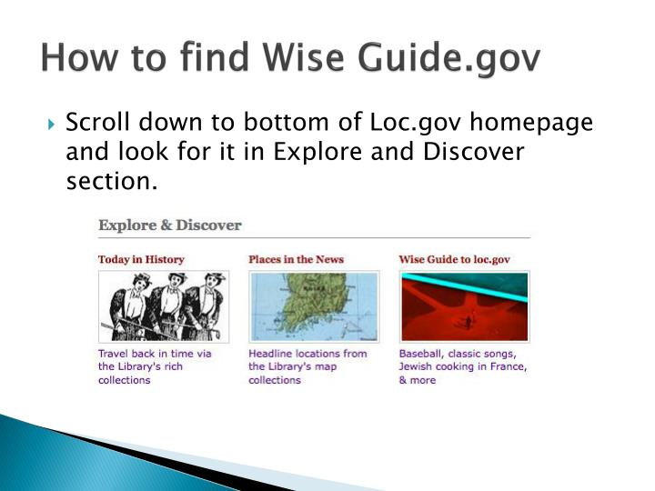 How to find Wise