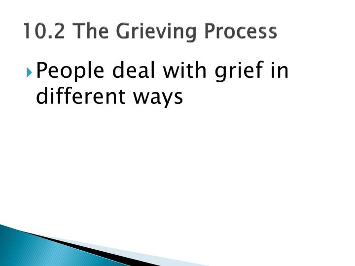 10.2 The Grieving Process