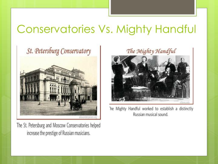 Conservatories Vs. Mighty Handful