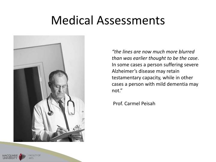 Medical Assessments