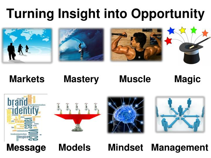 Turning Insight into Opportunity