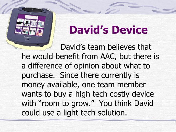 David's Device
