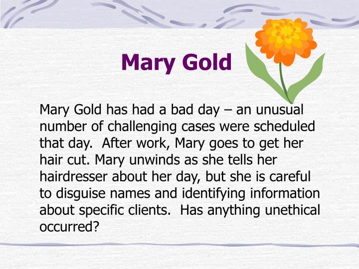 Mary Gold