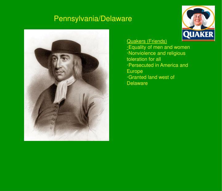 Pennsylvania/Delaware