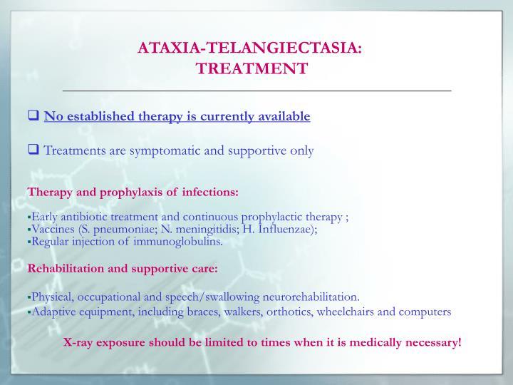 ATAXIA-TELANGIECTASIA:
